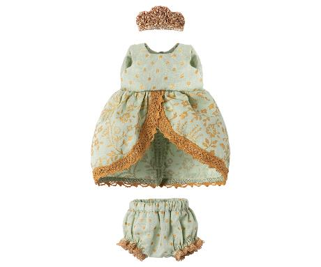 Maileg Princess Dress Mint - Micro
