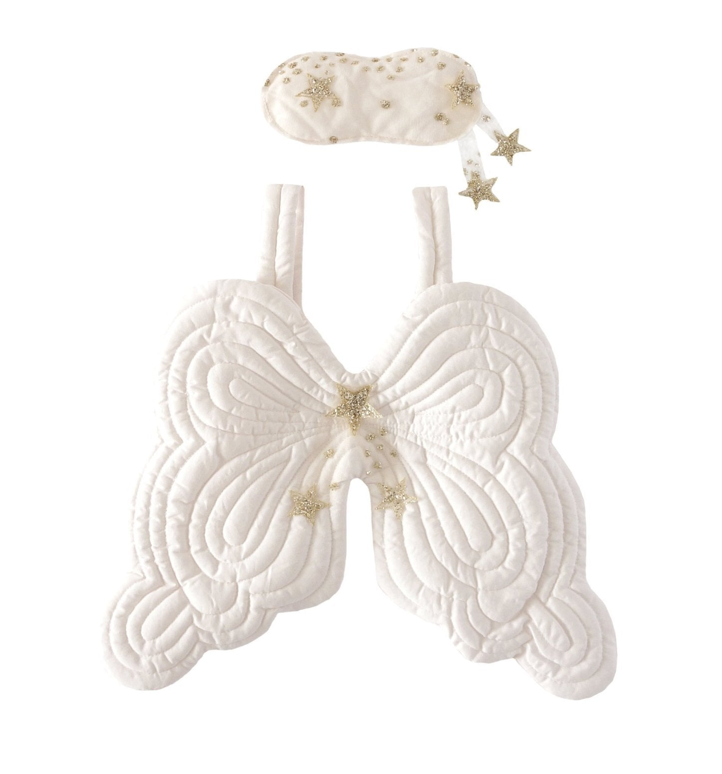 Bonne Mère Starry Nights Eyemask & Angel Wings - Powder