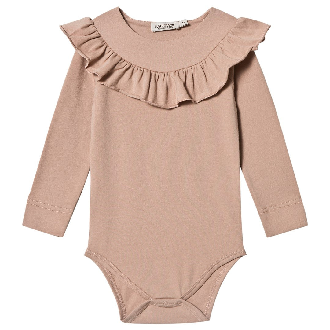 MarMar Copenhagen Bibbi Body Suit - Burnt Rose