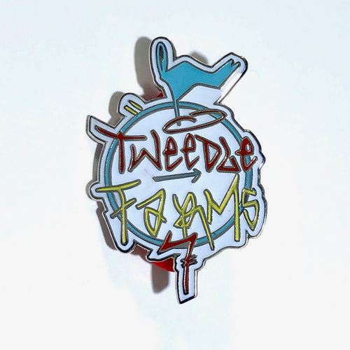Enamel Pin - Graffiti Logo