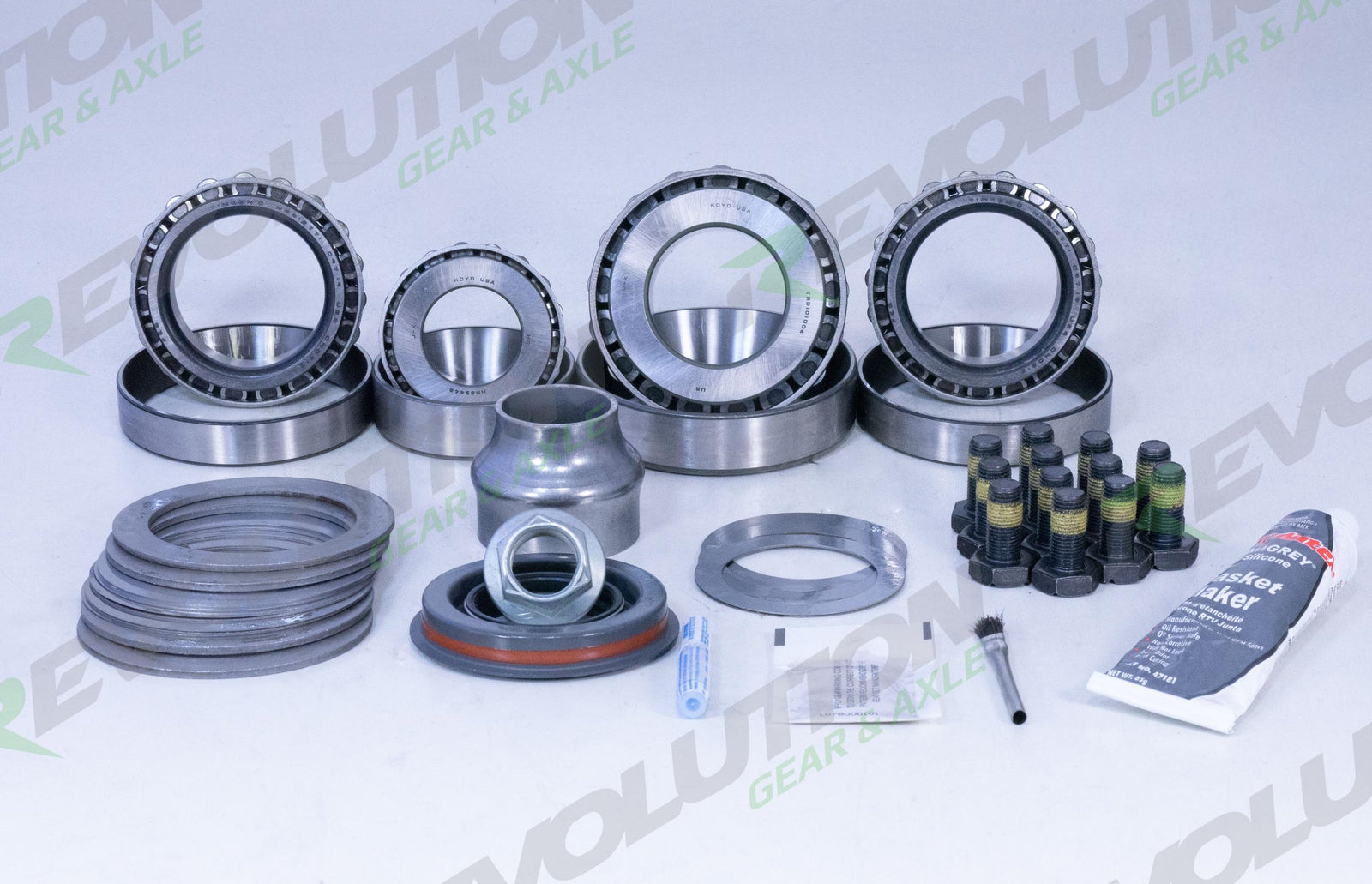Ford 9.75 Inch Master Overhaul Kit 2011 and Up; For use with 2010 and Down Ring and Pinion Revolution Gear and Axle - HQ Offroad