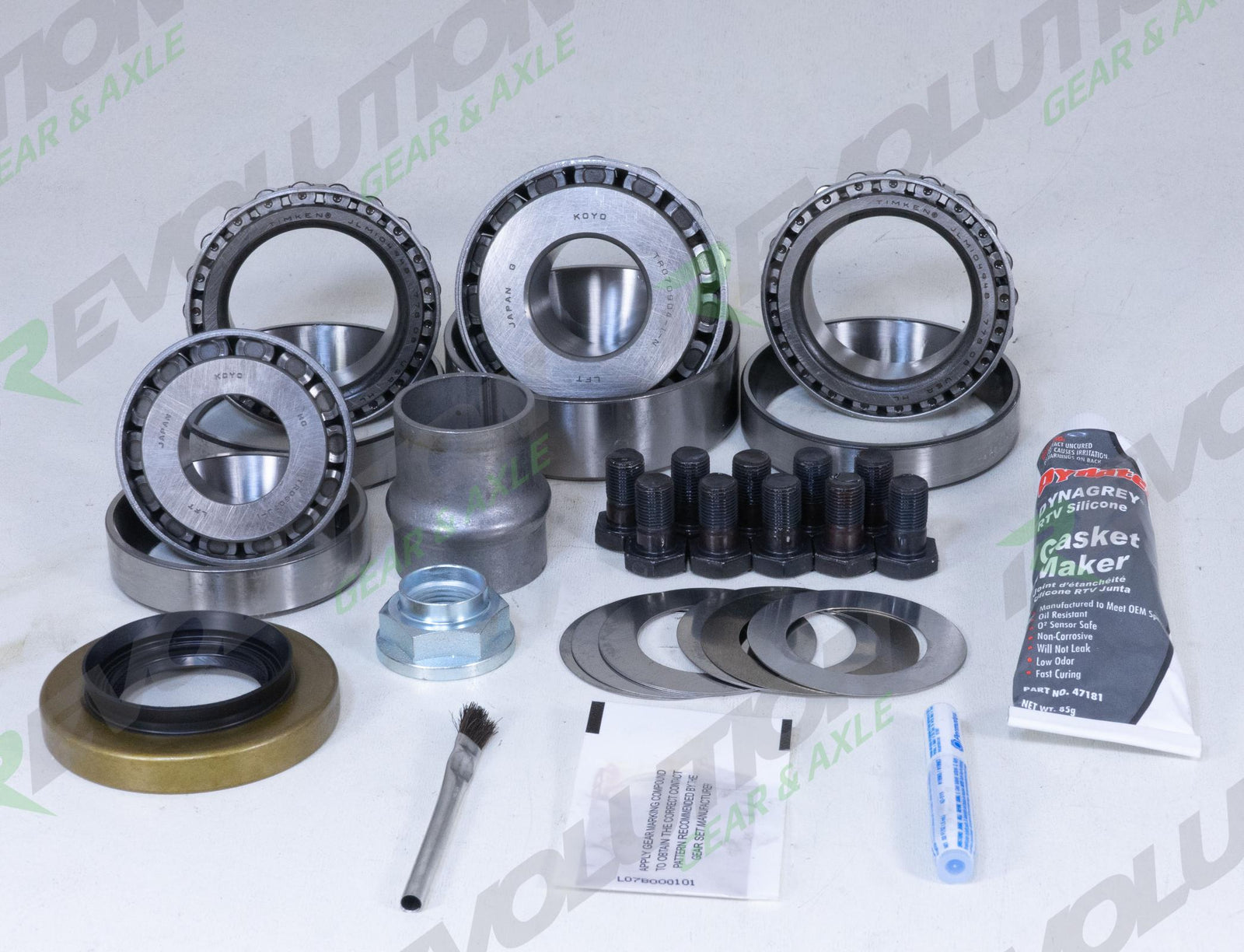 Toyota 8 Inch Reverse Front Master Overhaul Kit / Factory Locker Revolution Gear and Axle - HQ Offroad