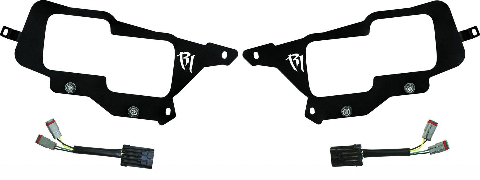 14-16 Polaris RZR XP1000 Headlight Mount RIGID Industries