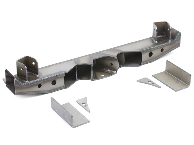 Jeep 4 Link Crossmember Kit Double Triangulated 97-06 Wrangler TJ, LJ Rear Steel Bare GenRight