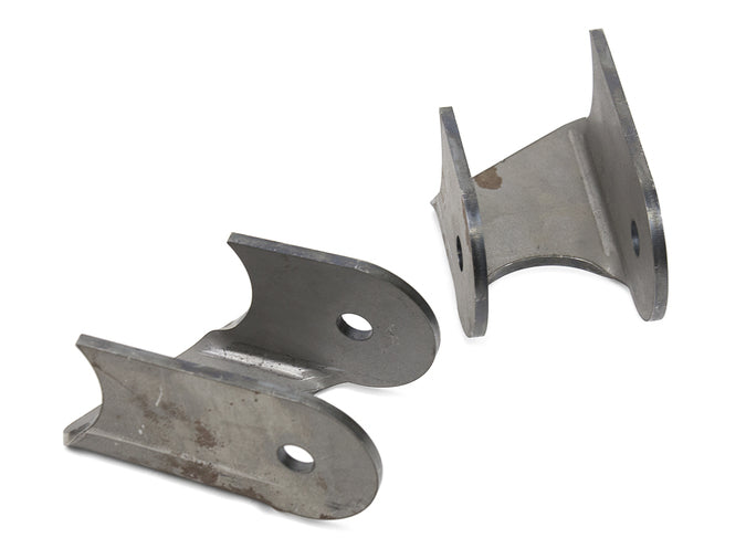 Jeep Lower Control Arm Brackets 30 Degree 76-06 Jeep TJ, LJ, YJ, CJ Front Or Rear Steel Bare Pair GenRight