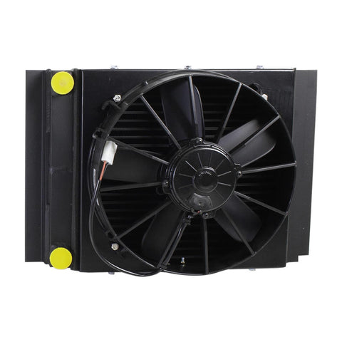 "14"" Single Pass Heat Sink Super Flow Cooler (-8 An 1/2"" Fittings)"