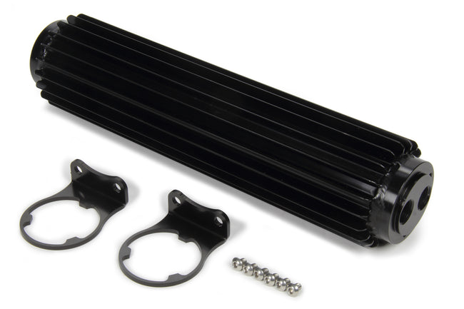 Dual-Pass Heat Sink Cool er  12in Black Anodized