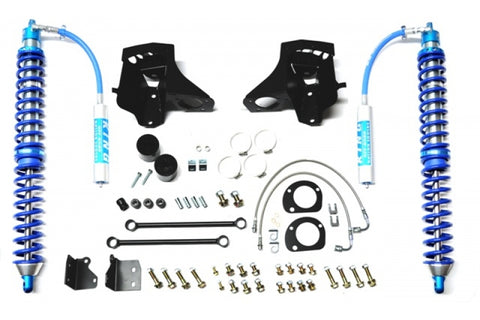 JEEP JK Spec 2.5 Reservoir 0-2.0 Inch Lift Rear Direct Bolt-in Shock 07-18 Wrangler JK Pair EVO Manufacturing