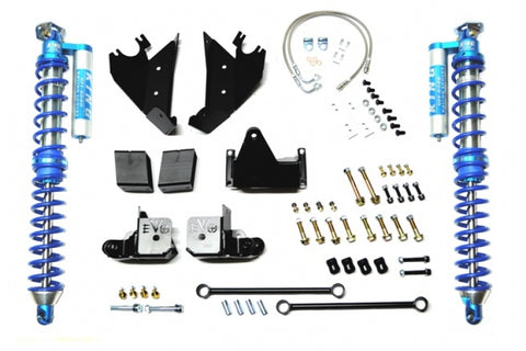 Jeep JL Spec 2.5 Reservoir 2.5-5.0 Inch Lift Rear Direct Bolt-in Shock 18-Present Wrangler JL Pair EVO Manufacturing