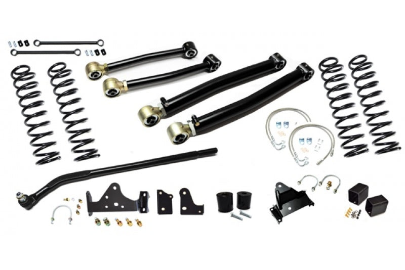 Jeep JK Enforcer Kit 4.0 Inch with Draglink Flip Stage 2 07-18 Wrangler JK EVO Manufacturing - HQ Offroad