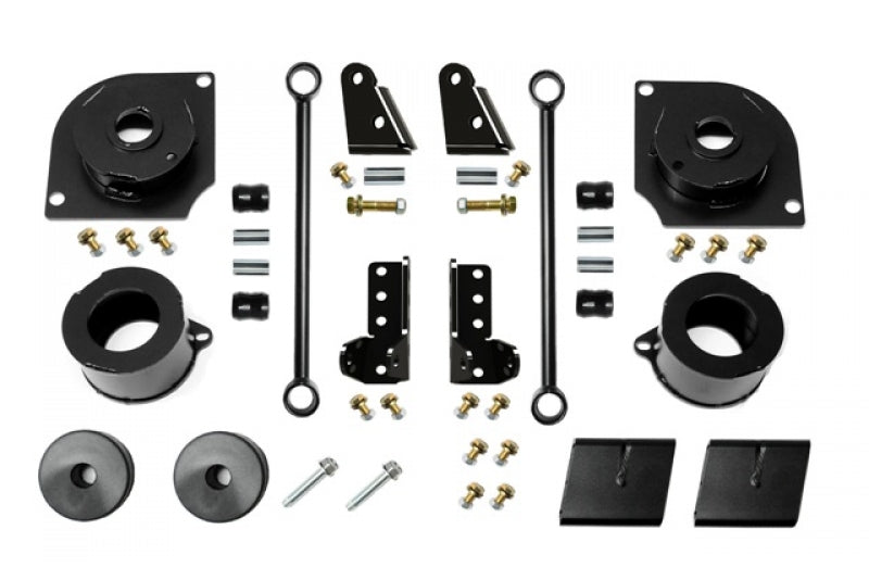 Jeep JL 2.5 Inch 18-Present Wrangler JL Boost Stage 1 with Shock Extensions EVO Manufacturing - HQ Offroad
