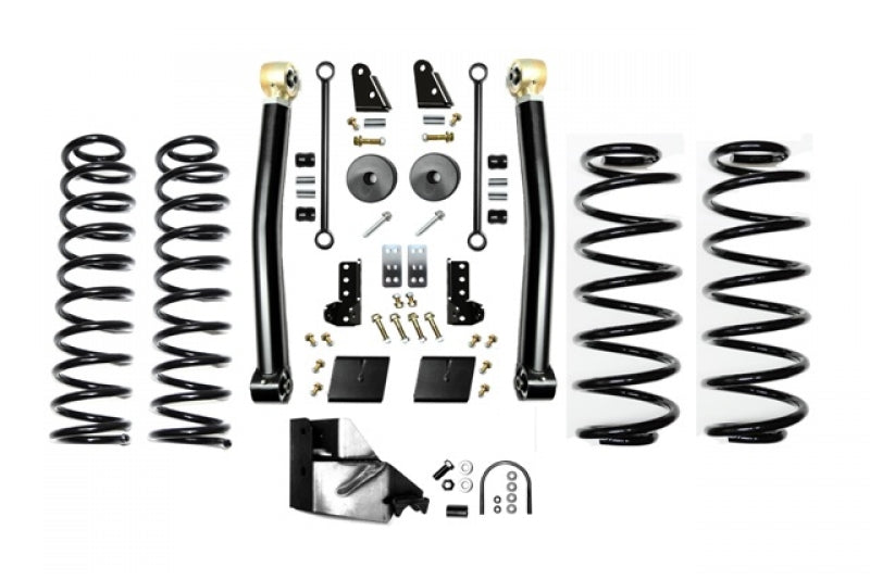 Jeep JL 3.5 Inch Enforcer Lift Stage 2 with Shock Extensions 18-Present Wrangler JL Unlimited EVO Manufacturing