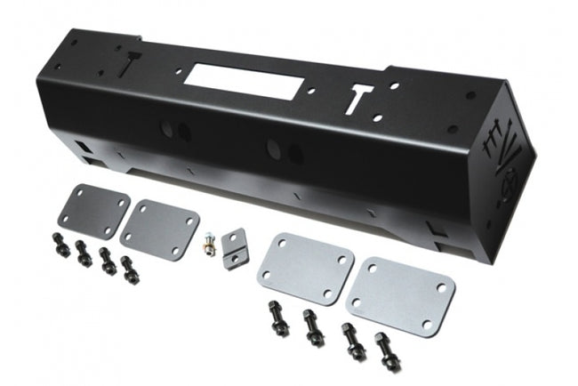 1/4 Pounder Front Bumper for Jeep Wrangler JK JL Gladiator JT Black EVO Mfg