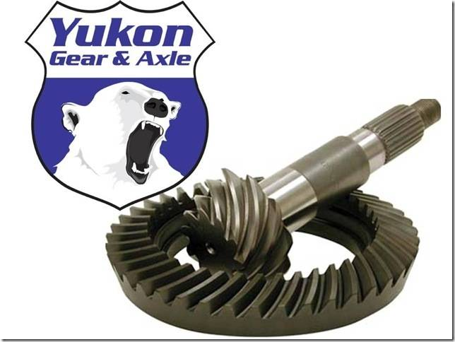 YUKON RING & PINION FOR DANA 60 LP - 5.38
