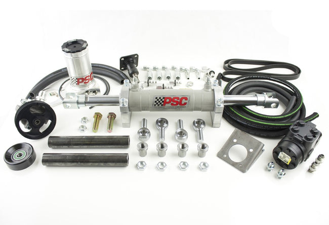 Full Hydraulic Steering Kit, 2007-11 Jeep JK 3.8L EGH (35-42 Inch Tire Size) PSC Performance Steering Components