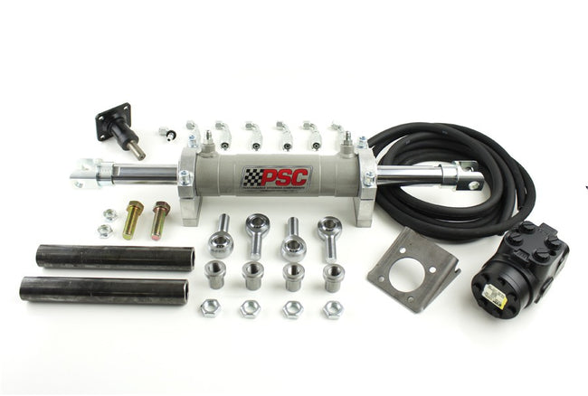 Basic Full Hydraulic Steering Kit, PSC Performance Steering Components