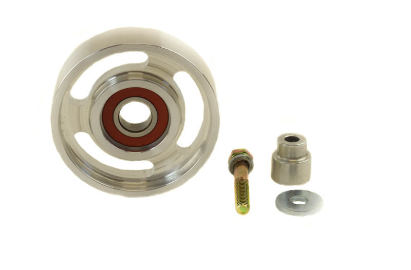 3.5 Inch Full Race Single Bearing Idler Pulley PSC Performance Steering Components