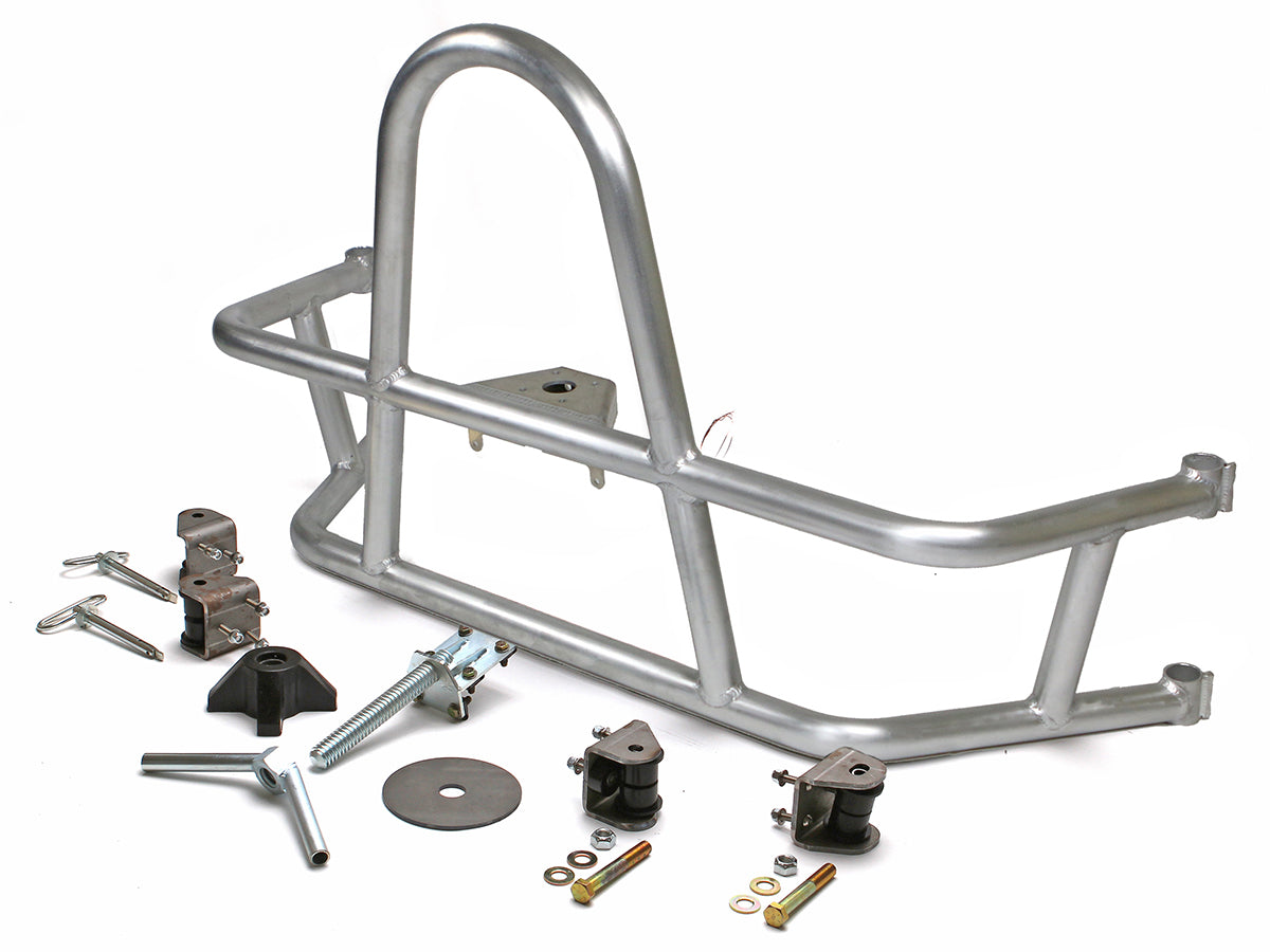 Jeep Rear Tire Carrier Swing Out 97-06 Wrangler TJ, LJ Aluminum Bare Kit GenRight
