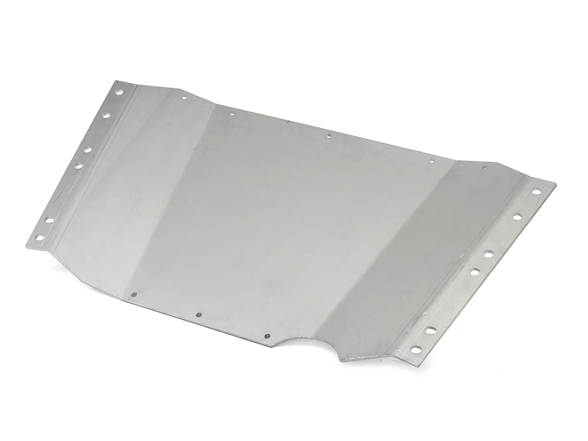 Jeep Skid Plate Belly Up 97-06 Wrangler TJ .3125 Thick Aluminum Bare GenRight
