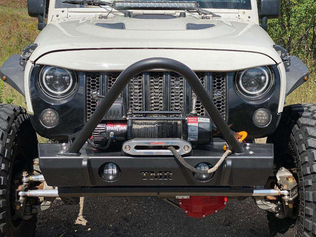Jeep Wrangler JK Front Bumper with Stinger - HQ Offroad