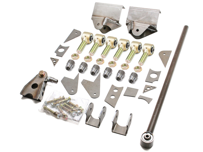 Jeep 3 Link Kit  87-06 Wrangler TJ, LJ, YJ Front Bare GenRight