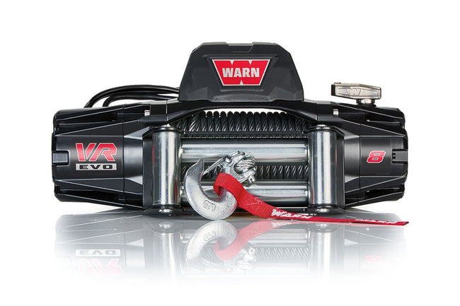 VR EVO 8 Winch 8000# Wire Rope - HQ Offroad