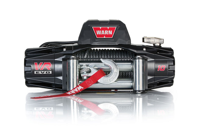 VR EVO 10 Winch 10000# Wire Rope - HQ Offroad