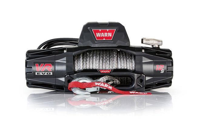 VR EVO 12-S Winch 12000# Synthetic Rope - HQ Offroad
