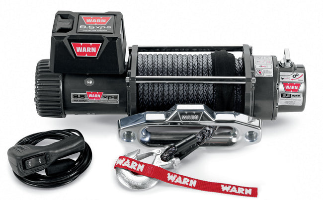 9.5XP-S Winch 9500# With Synthetic Rope - HQ Offroad