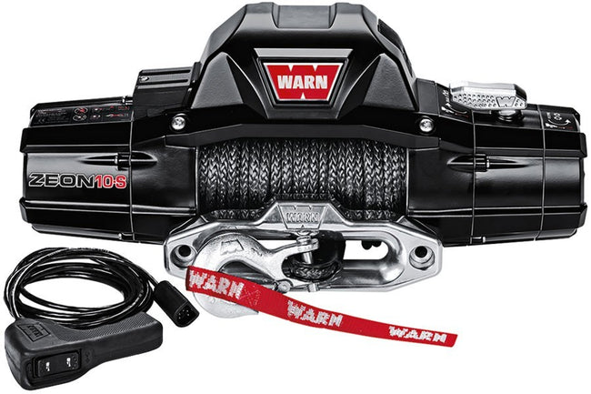 Zeon 10-S 10000lb Winch w/Synthetic Rope - HQ Offroad