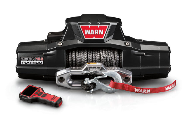ZEON 10-S 10000lb Winch w/Synthetic Rope Hawse - HQ Offroad