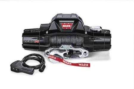 Warn ZEON 8-S Recovery 8000lb Winch with Spydura Synthetic Rope - 89305 - HQ Offroad