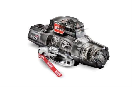 Warn ZEON Platinum 10-S Recovery 10000lb Winch with Spydura Synthetic Rope - 92815 - HQ Offroad