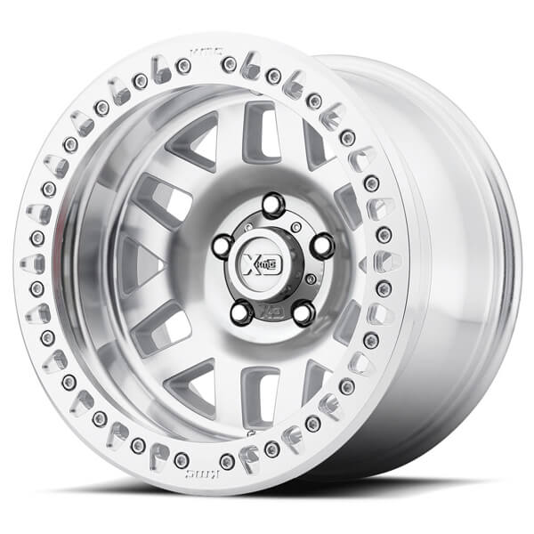 KMC Wheels XD229 Machete Beadlock Machined Wheel 17X9 8X6.5 XD22979080538N