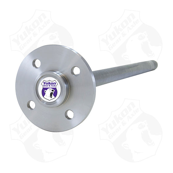 Yukon 1541H Alloy 4 Lug Rear Axle For 7.5 Inch And 8.8 Inch Ford Thunderbird Cougar Or Mustang Yukon Gear & Axle