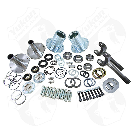 Spin Free Locking Hub Conversion Kit For 2010-2011 Dodge 2500/3500 SRW Yukon Gear & Axle