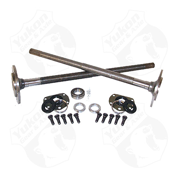 One Piece Short Axles For Model 20 76-3 Cj5 And 76-81 CJ7 With Bearings And 29 Splines Kit Yukon Gear & Axle - HQ Offroad