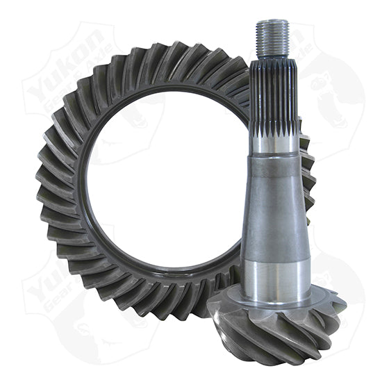High Performance Yukon Ring And Pinion Gear Set For Chrysler 8.75 Inch With 89 Housing In A 4.56 Ratio Yukon Gear & Axle