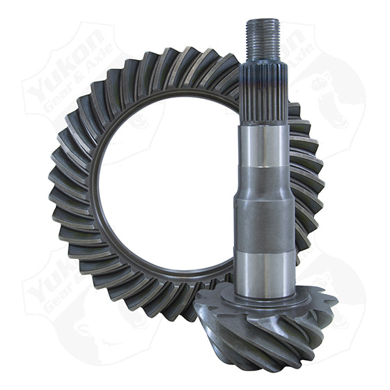 High Performance Yukon Replacement Ring And Pinion Gear Set For Dana 44-HD In A 4.56 Ratio 29 Spine Yukon Gear & Axle