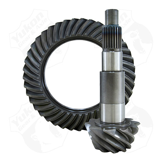 High Performance Yukon Replacement Ring And Pinion Gear Set For Dana 44 JK In A 5.38 Ratio Yukon Gear & Axle