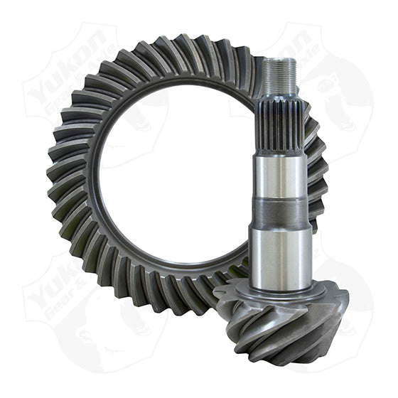 High Performance Yukon Replacement Ring And Pinion Gear Set For Dana 50 Reverse Rotation In A 3.54 Ratio Yukon Gear & Axle