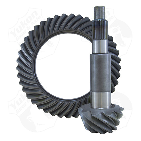 High Performance Yukon Ring And Pinion Gear Set For GM 9.25 Inch IFS Reverse Rotation In A 4.56 Ratio Yukon Gear & Axle