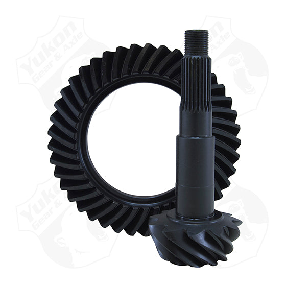 High Performance Yukon Ring And Pinion Gear Set For GM 12P In A 4.11 Ratio Yukon Gear & Axle - HQ Offroad