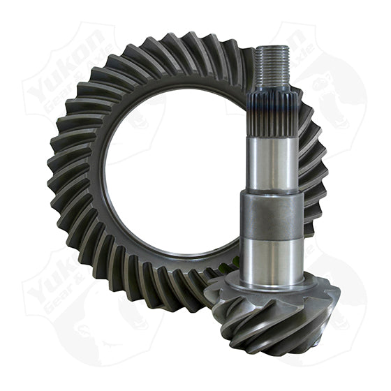 High Performance Yukon Ring And Pinion Gear Set For GM 8.25 Inch IFS Reverse Rotation In A 3.42 Ratio Yukon Gear & Axle