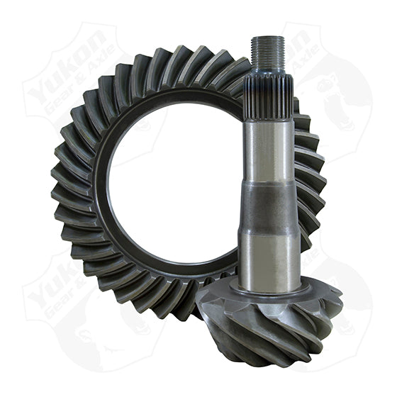 High Performance Yukon Ring And Pinion Gear Set For GM Cast Iron Corvette Dropout In A 3.55 Ratio Yukon Gear & Axle