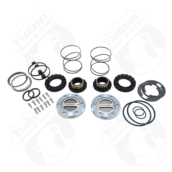 Yukon Hardcore Locking Hub Set For Dana 60 35 Spline 79-91 GM 78-97 Ford 79-93 Dodge Yukon Gear & Axle