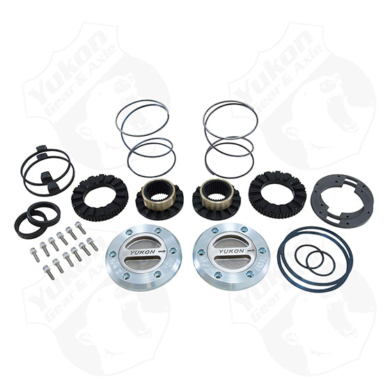 Yukon Hardcore Locking Hub Set For Dana 60 35 Spline 99-04 Ford Yukon Gear & Axle