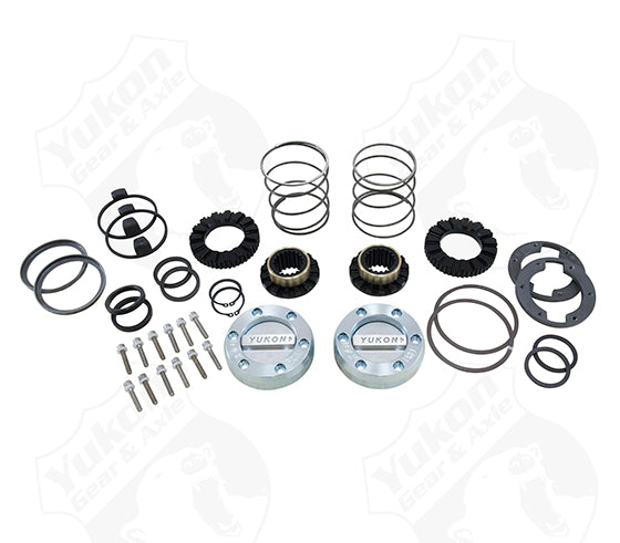 Yukon Hardcore Locking Hub Set For GM 8.5 Inch Front And Dana 44 19 Spline Yukon Gear & Axle