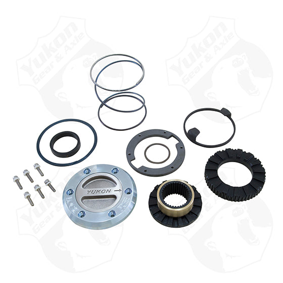Yukon Hardcore Locking Hub For Dana 60 30 Spline 75-93 Dodge 77-91 GM 78-97 Ford 1 Side Yukon Gear & Axle