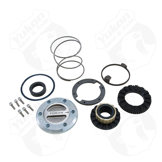 Yukon Hardcore Locking Hub Set For Dana 60 30 Spline 99-04 Ford 1 Side Only Yukon Gear & Axle